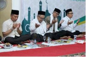 Waspadai Covid-19, MUI dan LDII Lampung Ajak Masyarakat Patuhi Aturan Pemerintah