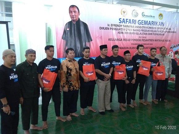 Tingkatkan Konsumsi Makan Ikan, LDII Riau Dukung Program 'Gemarikan'