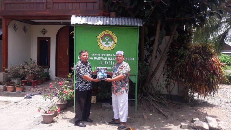 Kasat Intelkam Polsek Urban Kotamobagu Silaturohim dengan Pengurus DPD LDII Kotamobagu