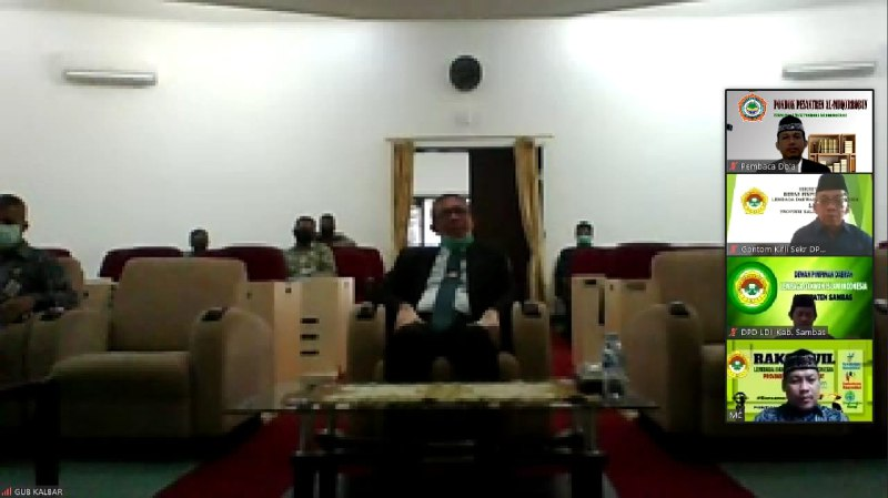 Gubernur Kalbar Harapkan Peran LDII Cerahkan Masyarakat Bahaya Covid-19