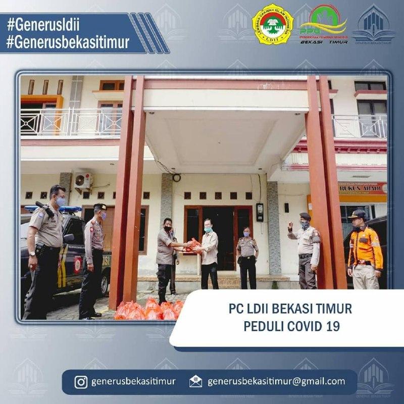 PC LDII Bekasi Timur Berpartisipasi dengan 3 Pilar Bagi Sembako