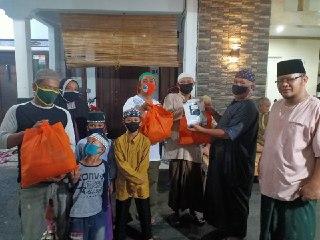 LDII Peduli Sesama, Bagikan pada Warga Masker, Hand Sanitizer & Sembako