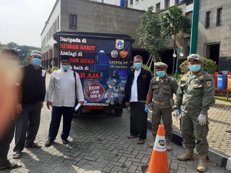 LDII Jakarta Barat Pimpin Konvoi Sosialisasi PSBB dan Larangan Mudik