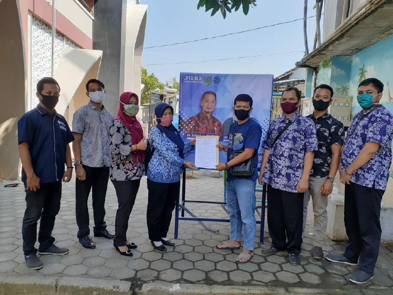 Pesantren Binaan LDII Kudus Mendapat Bantuan Wastafel dari Pemkab